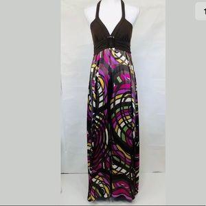 Candies Multicolor Sexy Maxi Dress Sz M